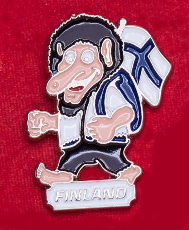 "Туристический значок ""Финляндия"""