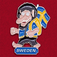 "Туристический значок ""Швеция"""