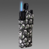 Байкерская турбированная ветроустойчивая газ-зажигалка