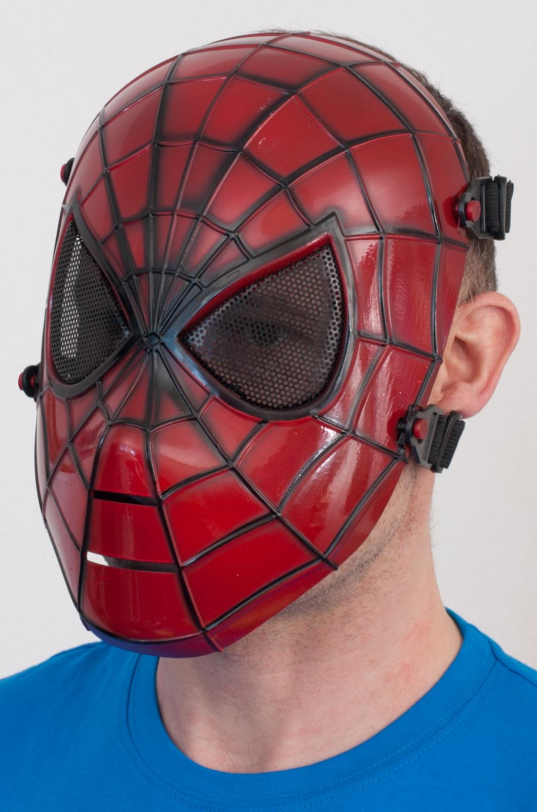 """Ударопрочная маска """"Человек паук"""" - лучшая защита за низкую цену"""