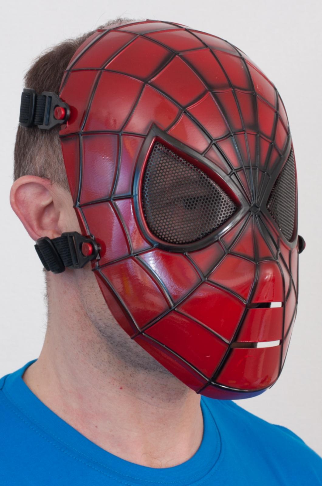 """Ударопрочная маска """"Человек паук"""" по низкой цене"""