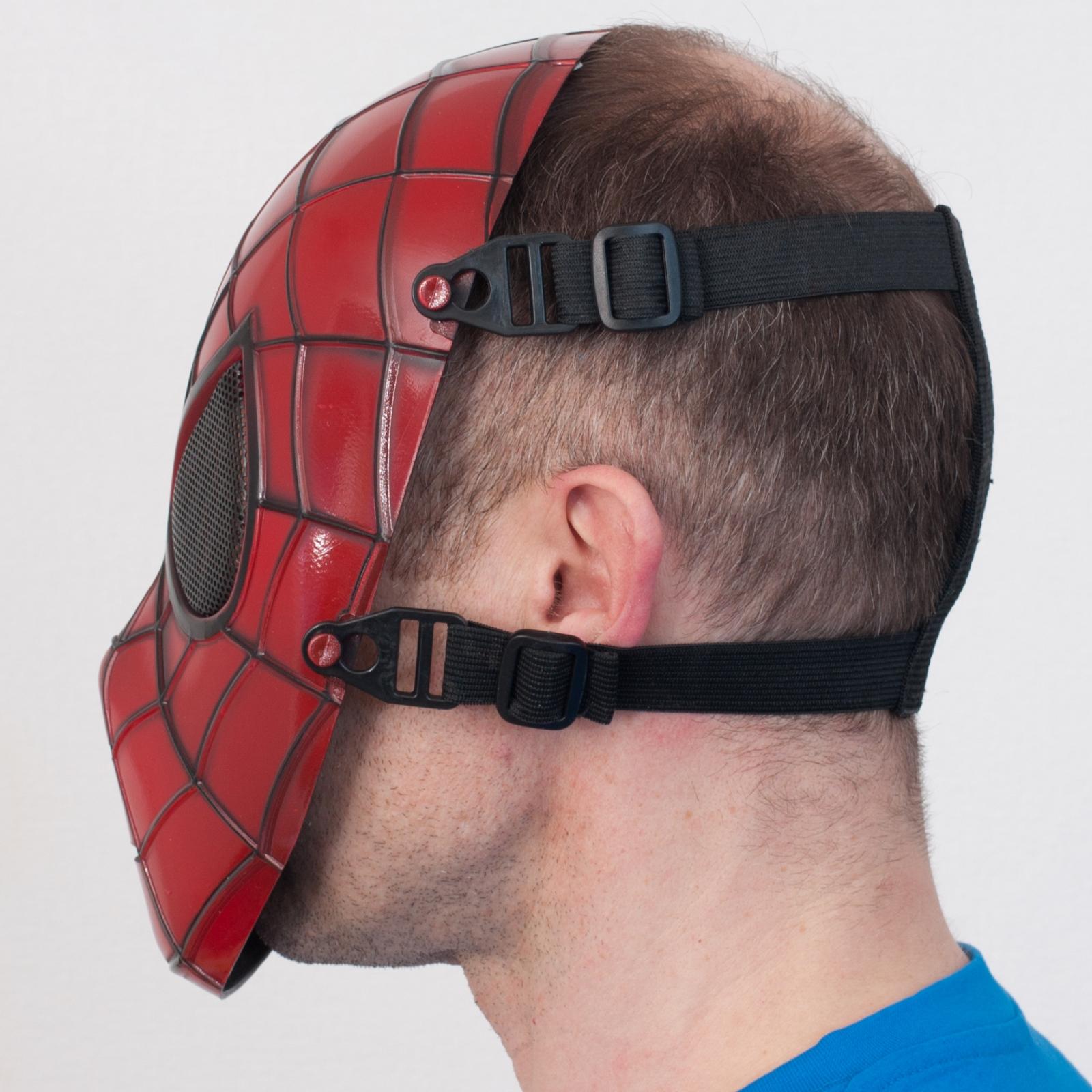 """Ударопрочная маска """"Человек паук"""" для оптово-розничных заказов"""