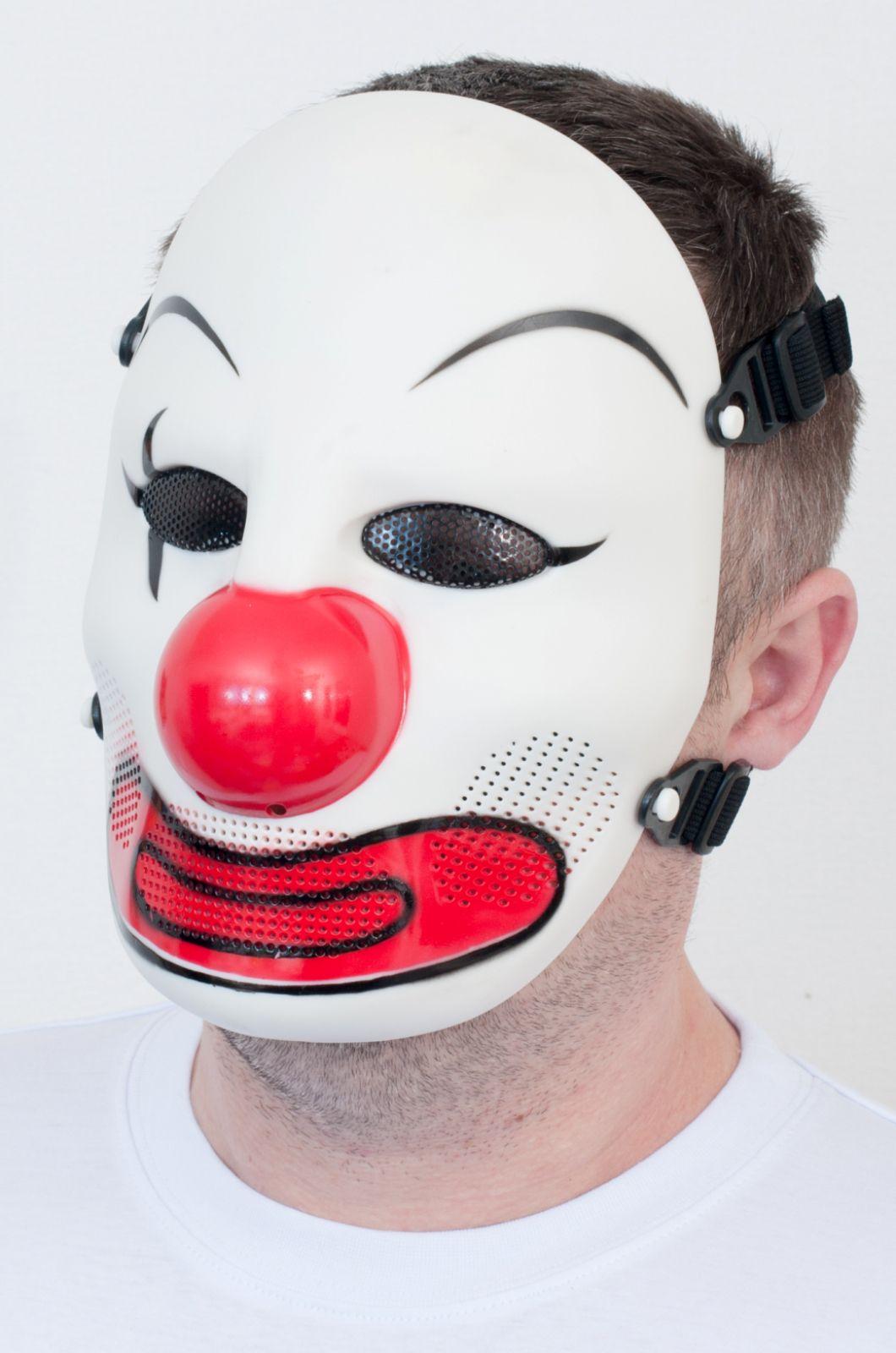 Ударопрочная маска Джеффа для страйкбола по лучшей цене
