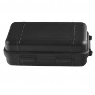 Ударопрочный влагозащищеннй контейнер для хранения и переноски ценных предметов (черный, средний)