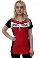 Удлиненная женская футболка Harley-Davidson