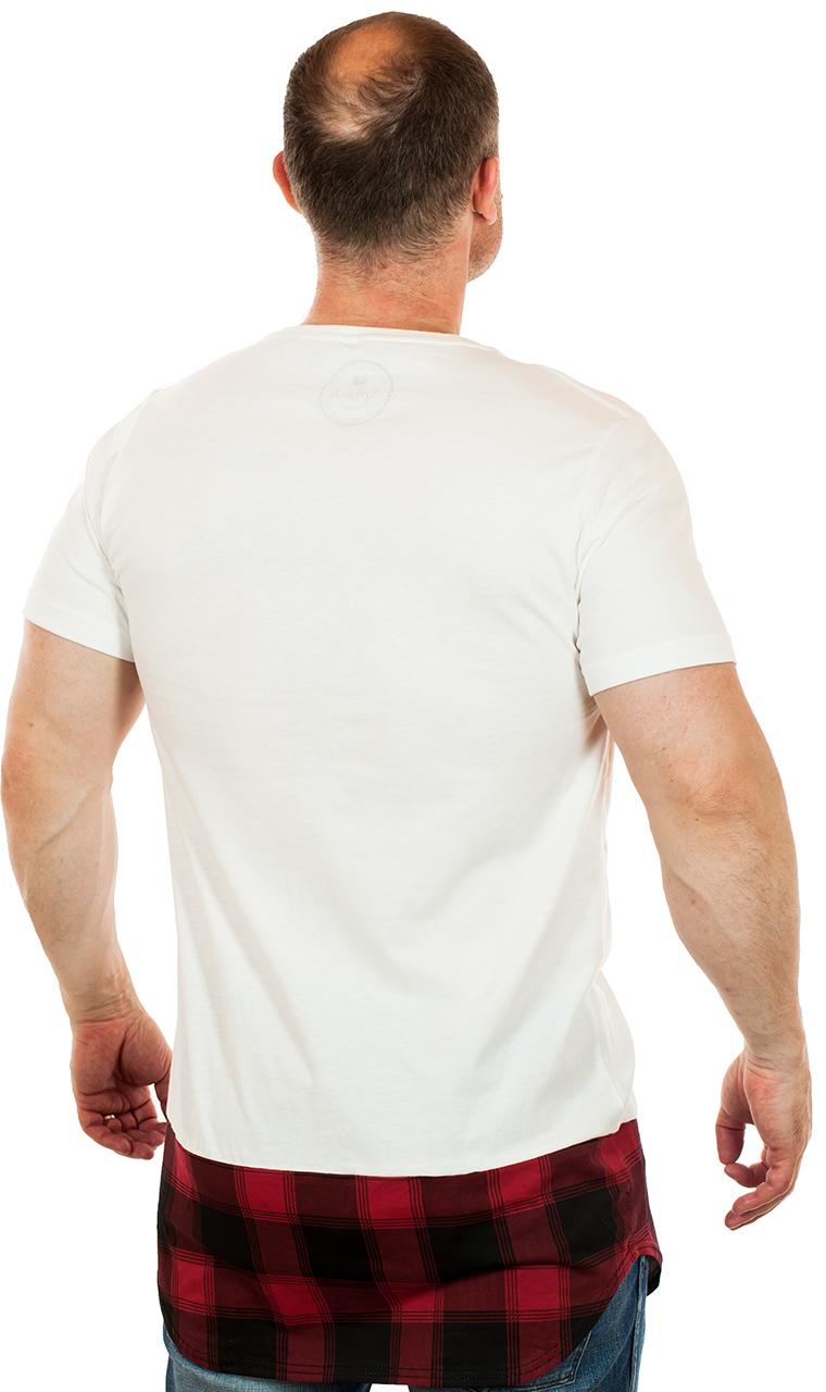 Удлиненная мужская футболка SPLASH из коллекции «Пришел, увидел, купил»