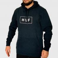 Удлиненная мужская толстовка HUF