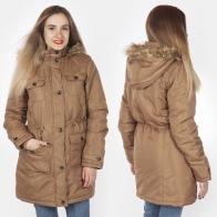 Удлиненная женская куртка с капюшоном от ESMARA® (Германия).