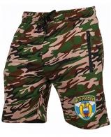 Удлиненные армейские шорты с нашивкой ФСО