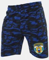Удлиненные камуфляжные шорты с нашивкой ФСО