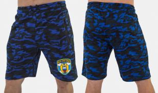 Удлиненные камуфляжные шорты с нашивкой ФСО - заказать с доставкой