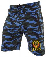 Удлиненные мужские шорты с нашивкой СССР