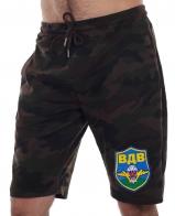 Удлиненные мужские шорты IZZUE с яркой термонашивкой ВДВ