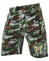 Удлиненные свободные шорты с нашивкой ФСО