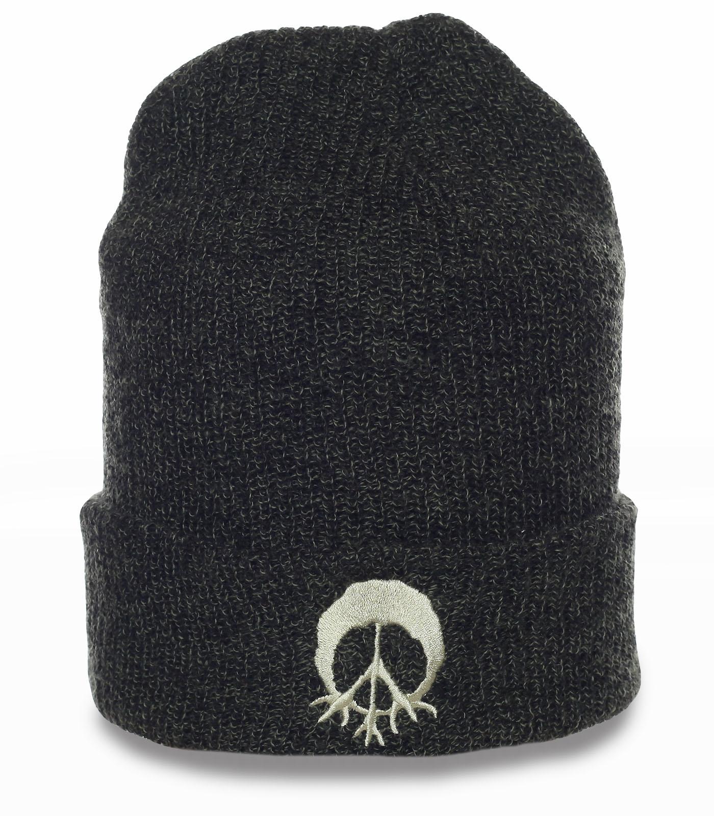 Удобная и теплая мужская шапка на каждый день и для спорта. Головной убор что надо! Заказывай и носи!