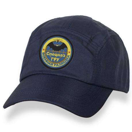 Удобная кепка с шевроном Спецназ ГРУ. Военная разведка.