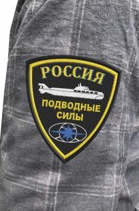 Удобная мужская рубашка с эмблемой Подводных сил России купить по привлекательной цене