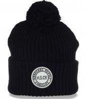 Удобная мужская шапка Herschel на каждый день. Непринужденная модель в городском стиле