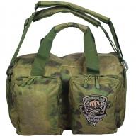"""Удобная полевая сумка в камуфляже Росгвардии """"Мох"""""""