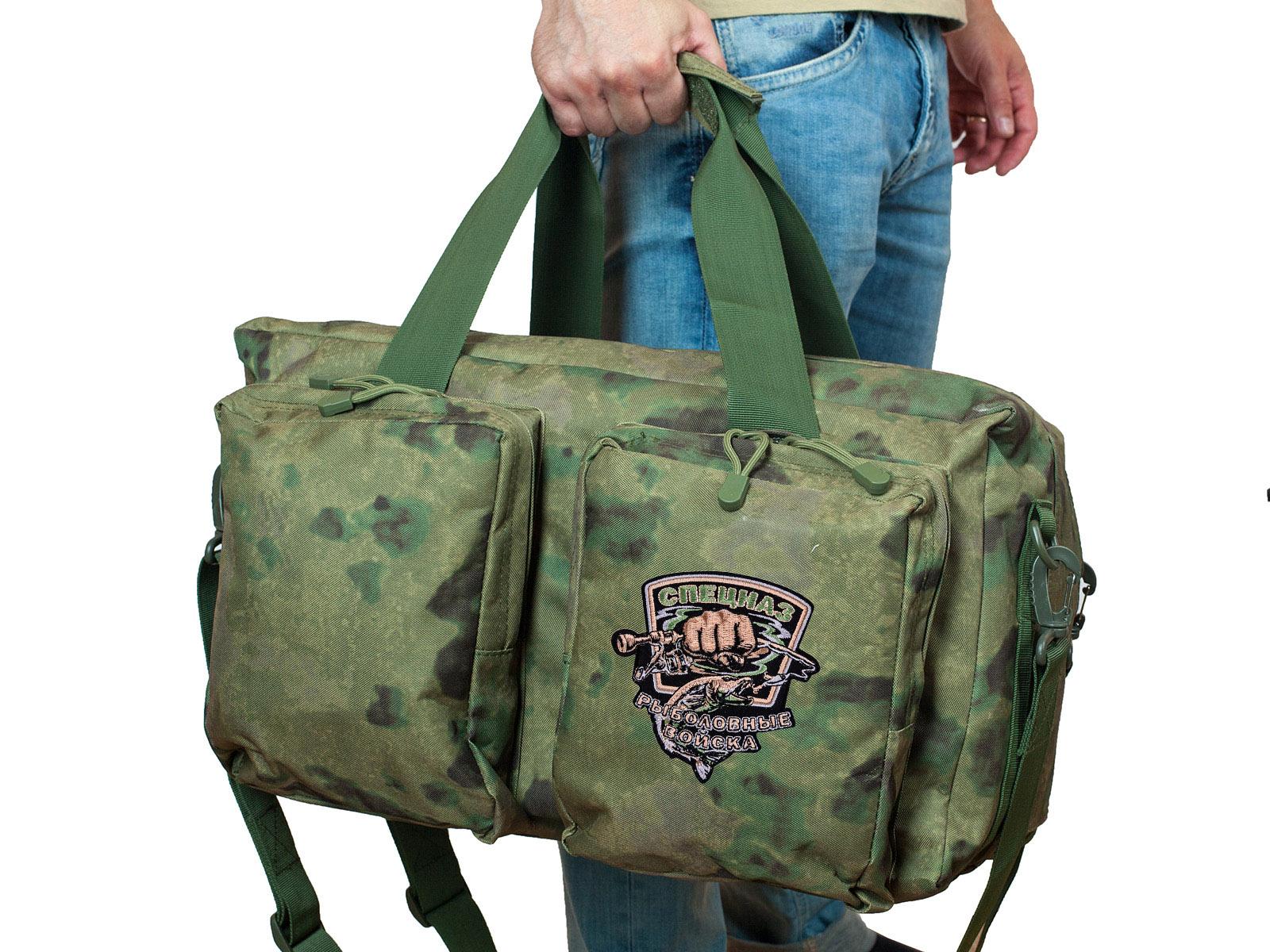 """Удобная полевая сумка в камуфляже Росгвардии """"Мох"""" купить выгодно"""