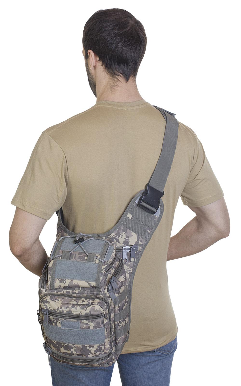 Удобная тактическая сумка на пояс