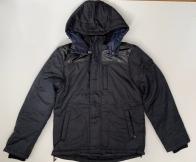 Удобная темная куртка для мужчин