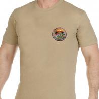 Удобная трикотажная футболка АФГАН