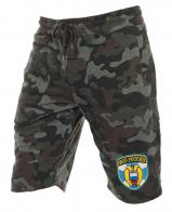 Удобные милитари шорты с нашивкой ФСО