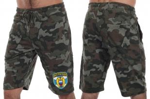 Удобные милитари шорты с нашивкой ФСО - купить в розницу