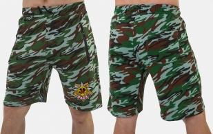 Удобные удлиненные шорты с карманами и нашивкой РХБЗ - купить оптом