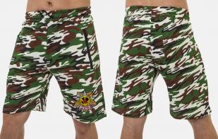 Удобные удлиненные шорты с нашивкой РХБЗ - купить с доставкой