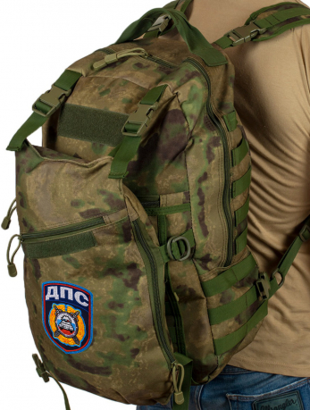 Удобный армейский рюкзак с нашивкой ДПС