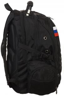 Удобный черный рюкзак с нашивкой Штандарт Президента - купить выгодно