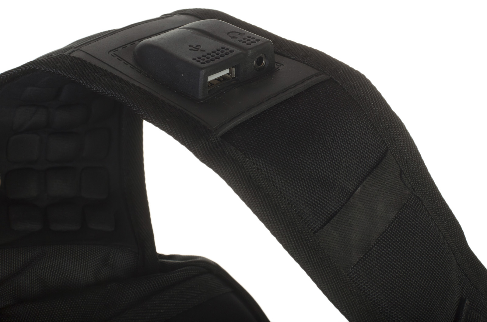 Удобный черный рюкзак с нашивкой Штандарт Президента - купить оптом
