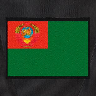 Удобный черный рюкзак с тематической нашивкой Погранвойск купить выгодно
