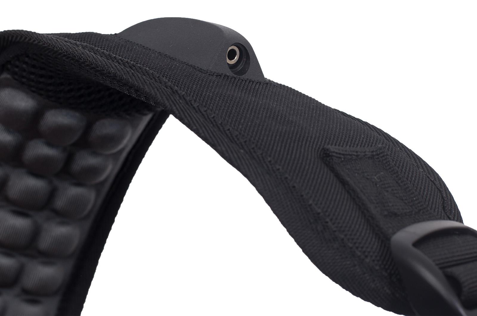 Удобный черный рюкзак с военной нашивкой Погранслужбы - заказать в подарок