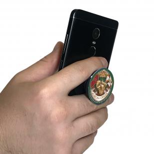 """Удобный держатель для телефона """"Войска связи"""" высокого качества"""