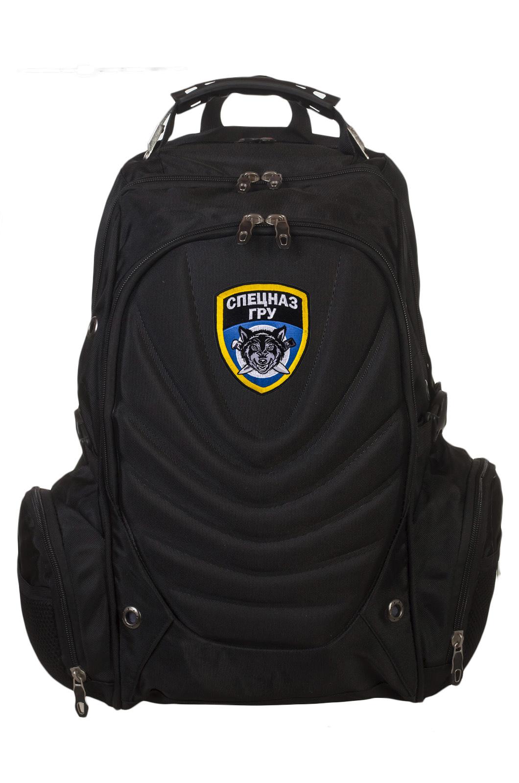 Купить удобный городской рюкзак с шевроном Спецназ ГРУ