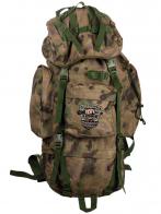Удобный камуфляжный рюкзак с нашивкой Охотничий Спецназ