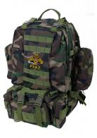 Удобный походный рюкзак с нашивкой РХБЗ