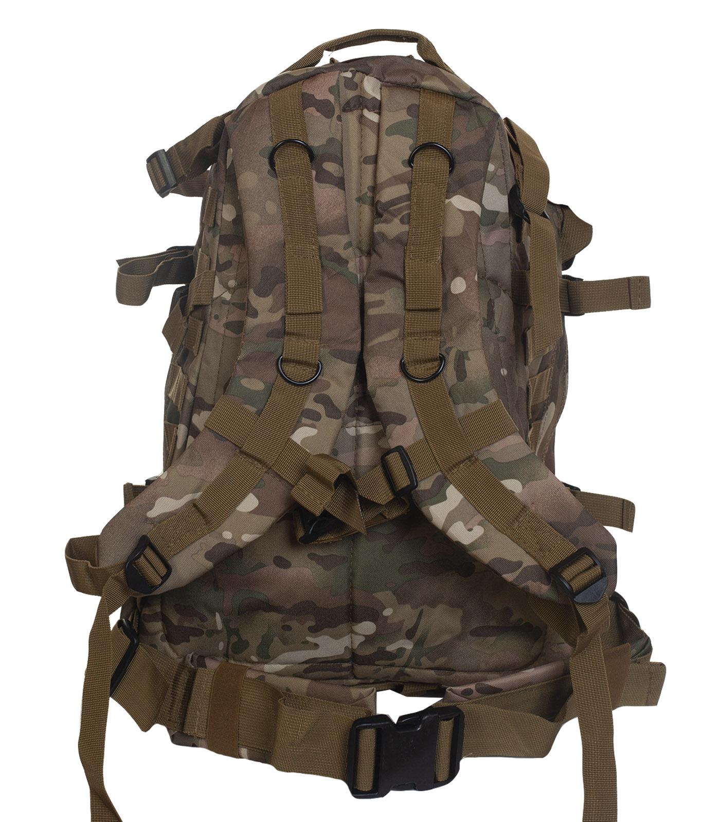 Удобный рюкзак для путешествий (камуфляж Multicam)  с доставкой