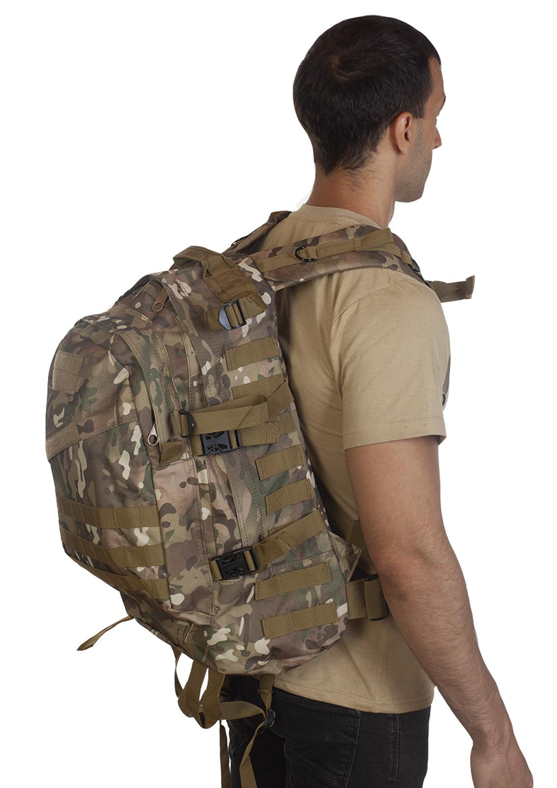 Удобный рюкзак для путешествий (камуфляж Multicam) - по низкой цене