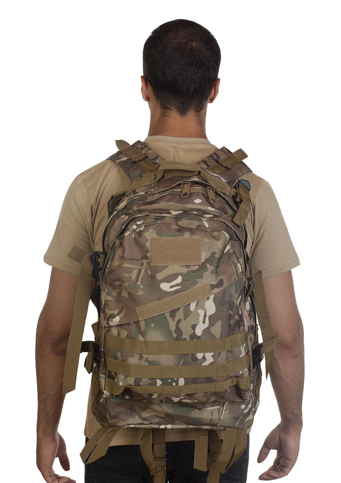 Удобный рюкзак для путешествий (камуфляж Multicam) - в Военпро