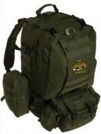 Купить удобный рюкзак хаки-олива с эмблемой РХБЗ