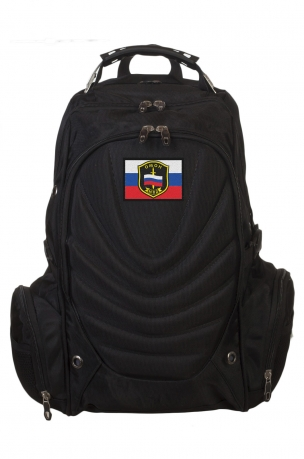 Удобный вместительный рюкзак с нашивкой ОМОН