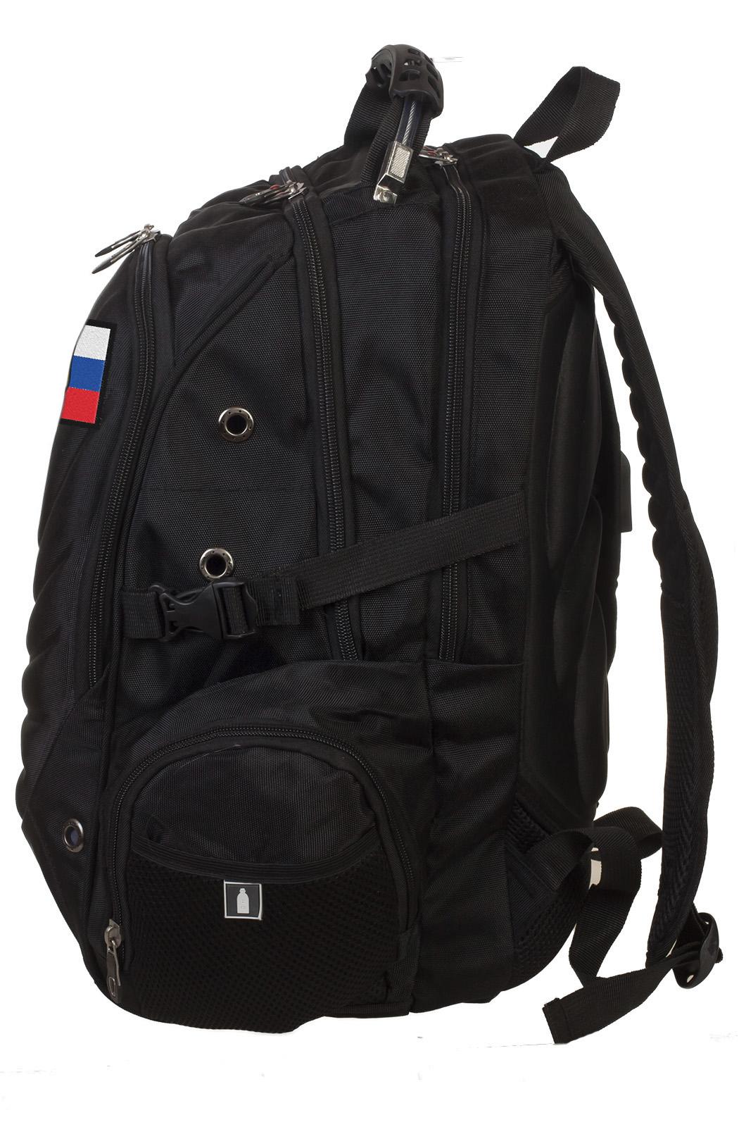 Удобный вместительный рюкзак с нашивкой ОМОН - купить в подарок