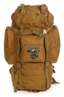 Удобный внушительный рюкзак с нашивкой Охотничий Спецназ