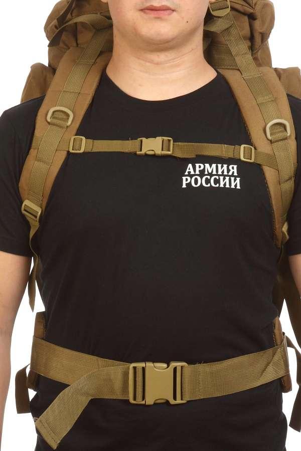 Удобный внушительный рюкзак с нашивкой Охотничий Спецназ - купить с доставкой