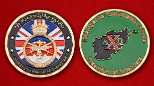 UK Troops In Afghanistan Intelligence Exploitation Force Operation Herrick Challenge Coin