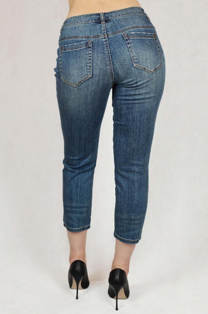 Укороченные джинсы топового немецкого бренда B.C.®